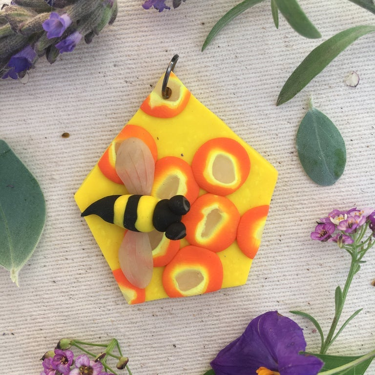 Image of Beehive Pendant