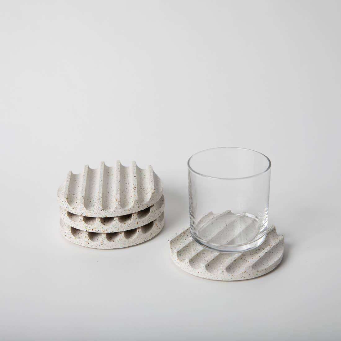 Image of Concrete Terrazzo Coasters + color options