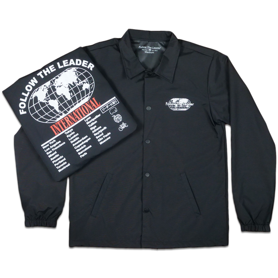 Image of Worldwide Coaches Jacket (Black)