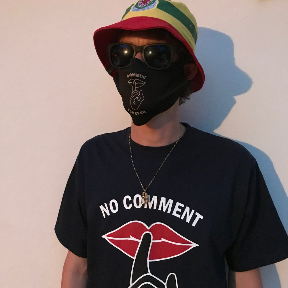 Image of No Comment Forever - Face Mask