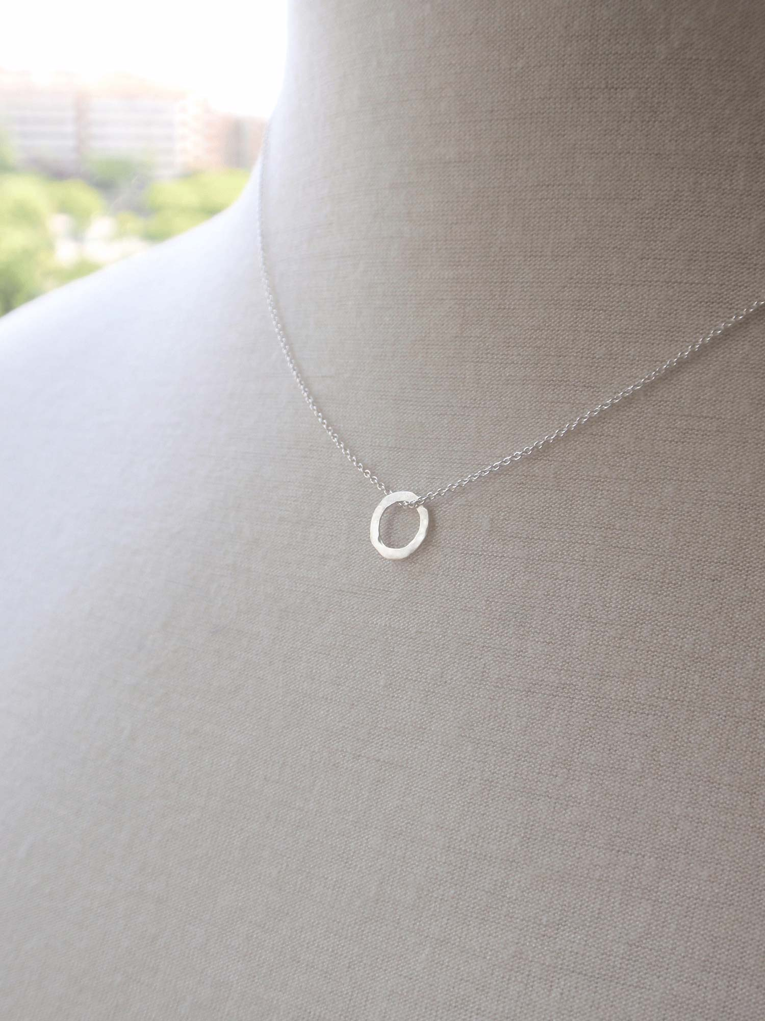 Image of Minimal Round Necklace