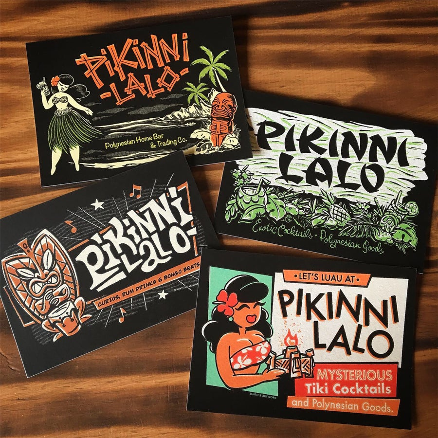 Image of Pikinni Lalo Post Cards - set of 4