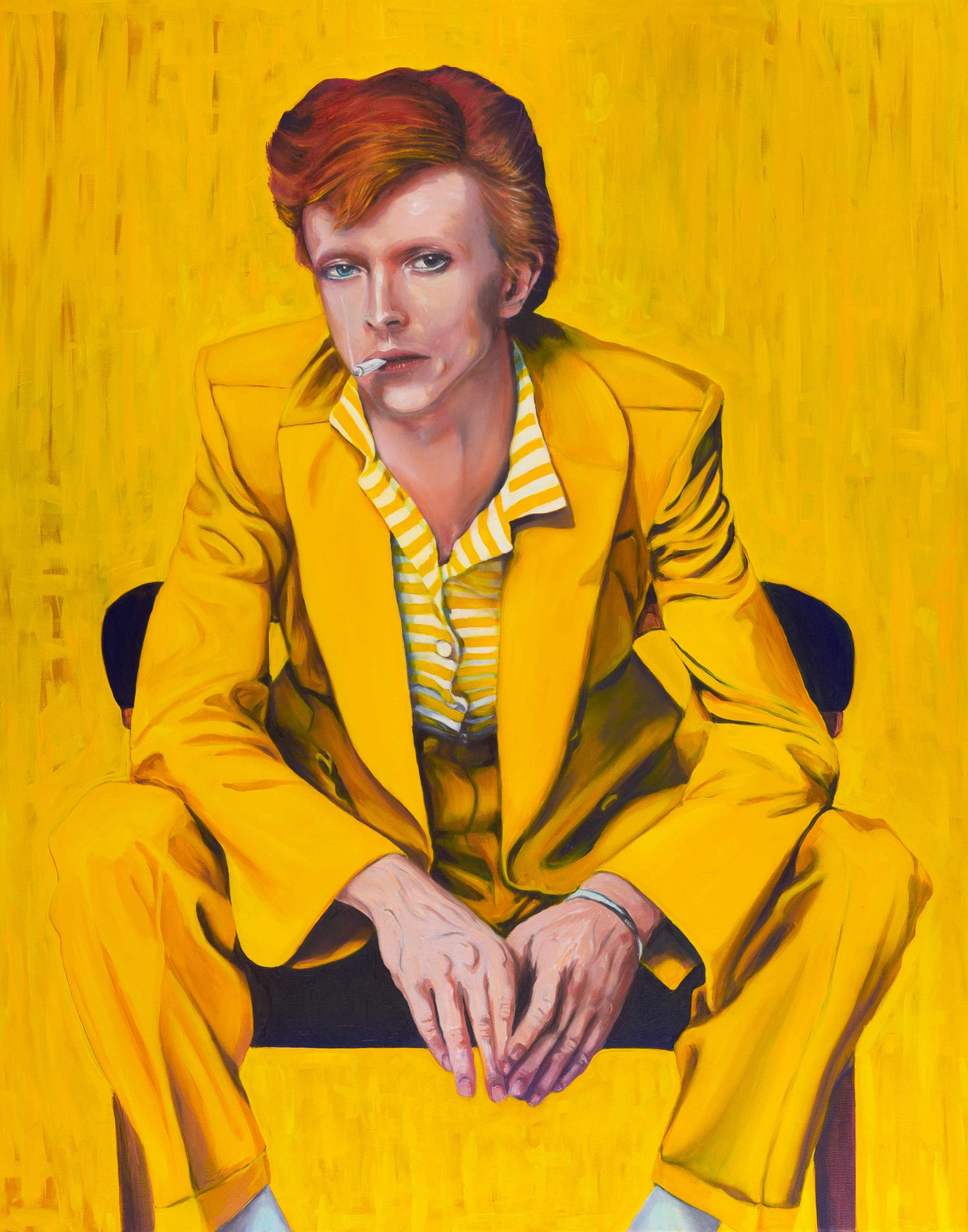 Image of David Bowie A4 print - Framed
