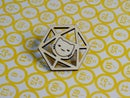 Image 2 of Catical Hit Kitty d20 Pin