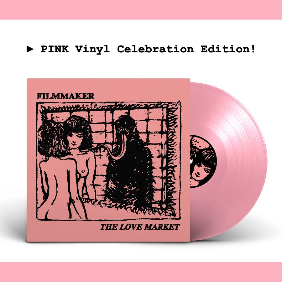 Image of Filmmaker - The Love Market // Pink limited edition