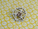 Image 4 of d20 Wooden Dice Pins