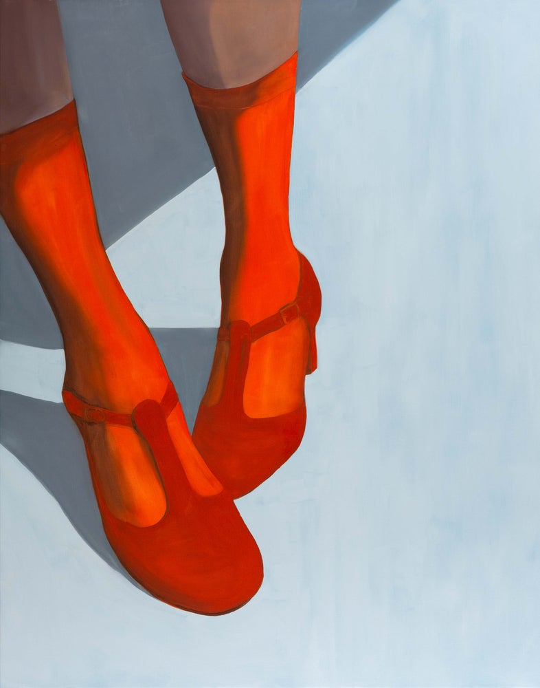 Image of Red shoes Art-Card