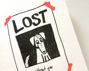 Image of Missing You Dog