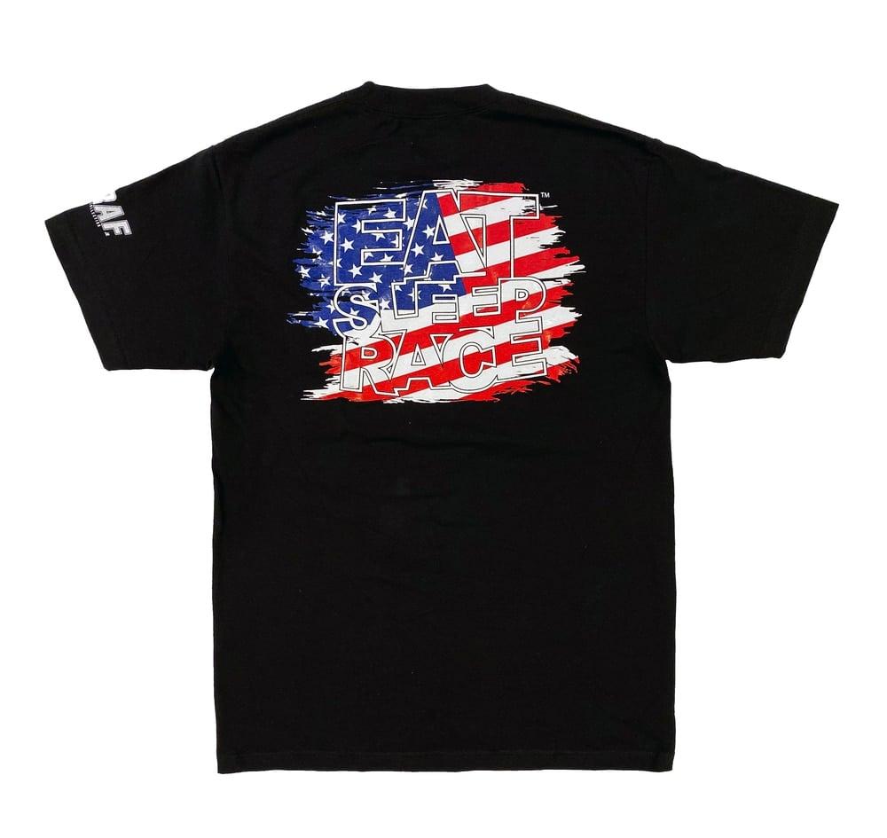 Image of Joe Graf Jr Flag T-shirt | BEST SELLER ESR edition