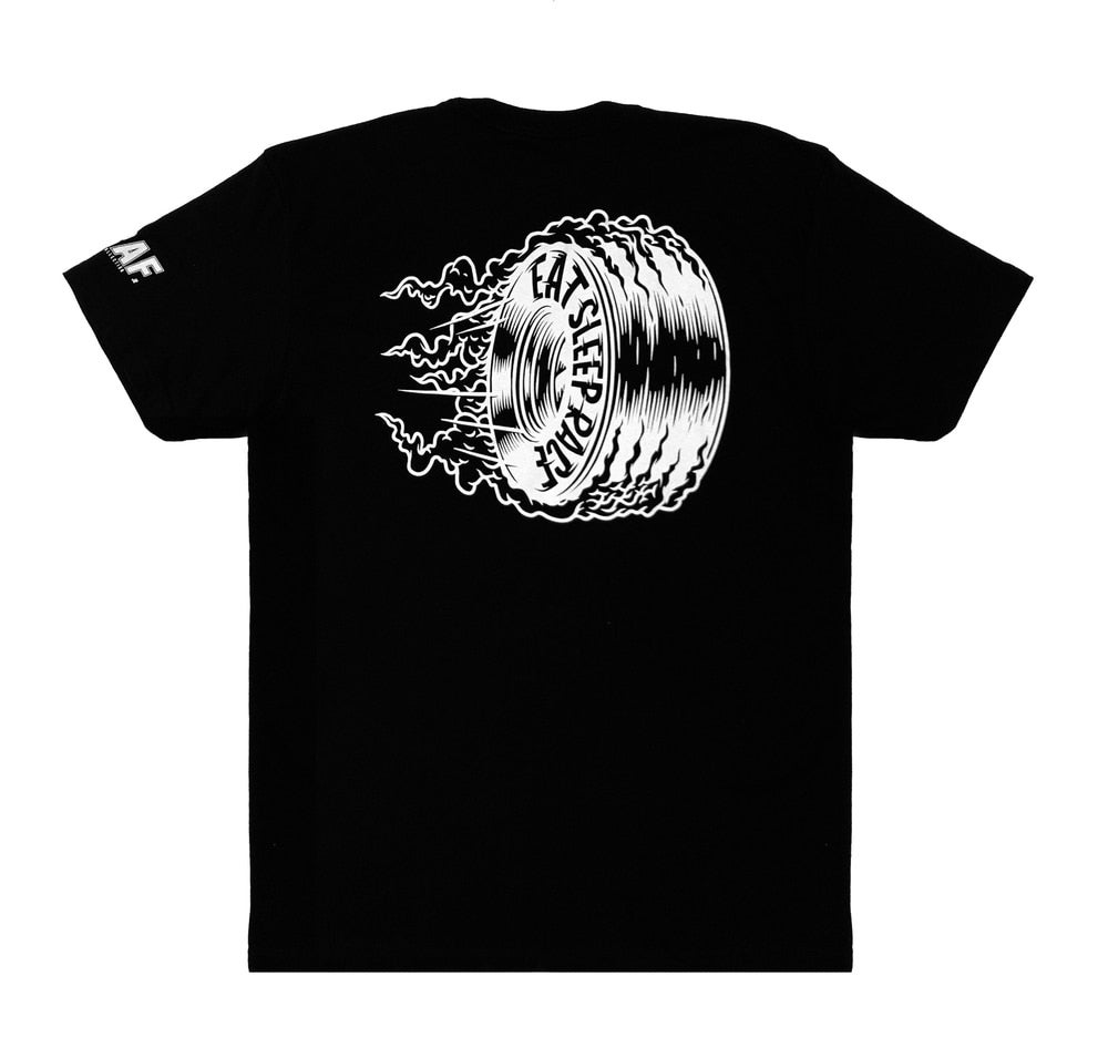 Image of Joe Graf Jr | Burnout | Lightweight T-Shirt | Black