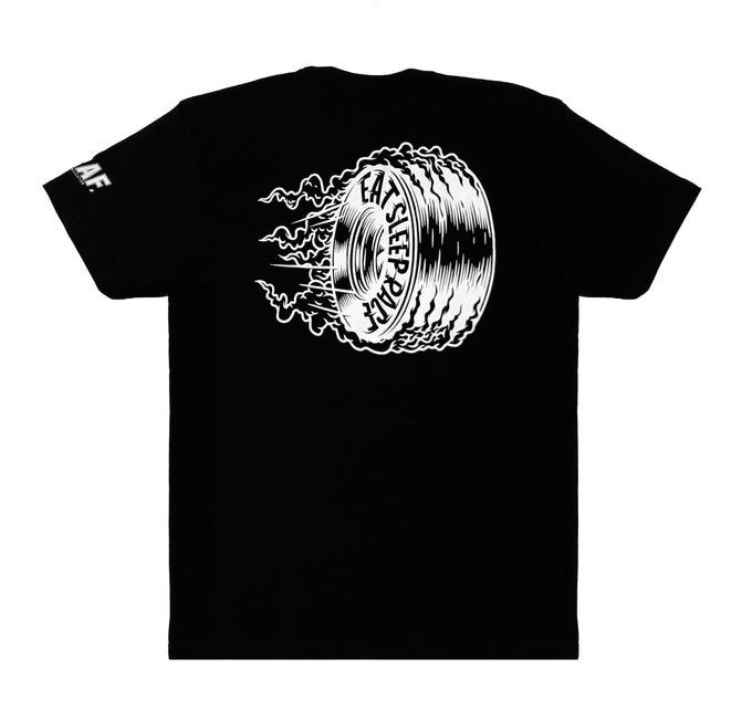 Image of Joe Graf Jr | Burnout | Lightweight T-Shirt | Black