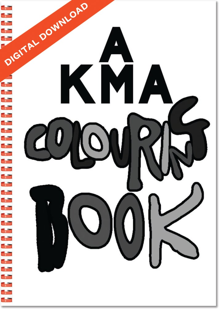 Image of KMA Colouring Book - Digital Download