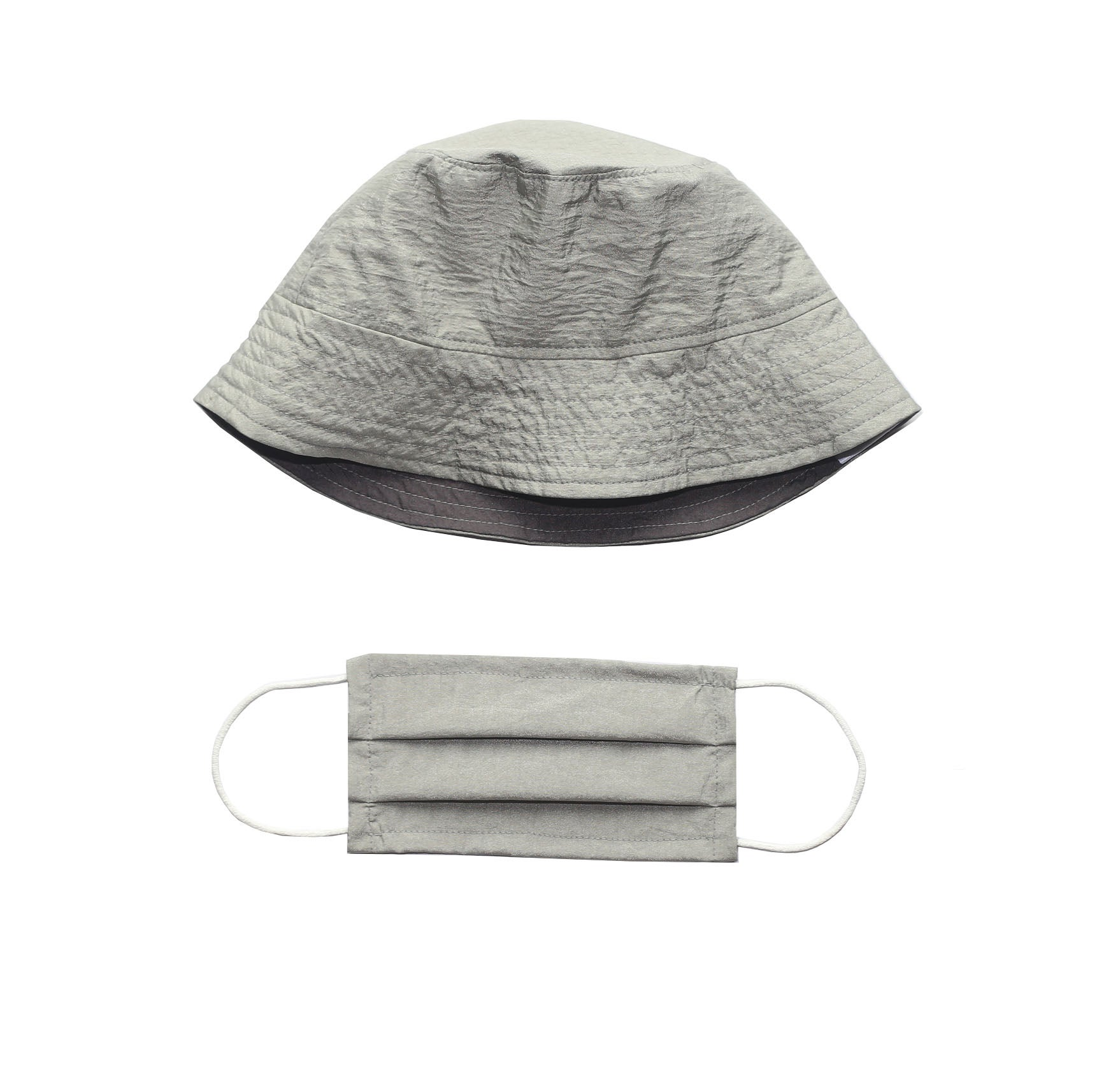 Matching Face Mask and Hat Set