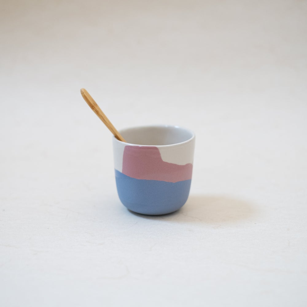 Image of Blue&rose cup