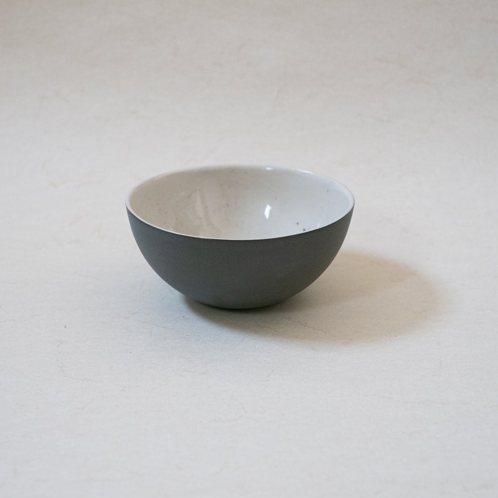 Image of Big bi-color bowl (grey blue)