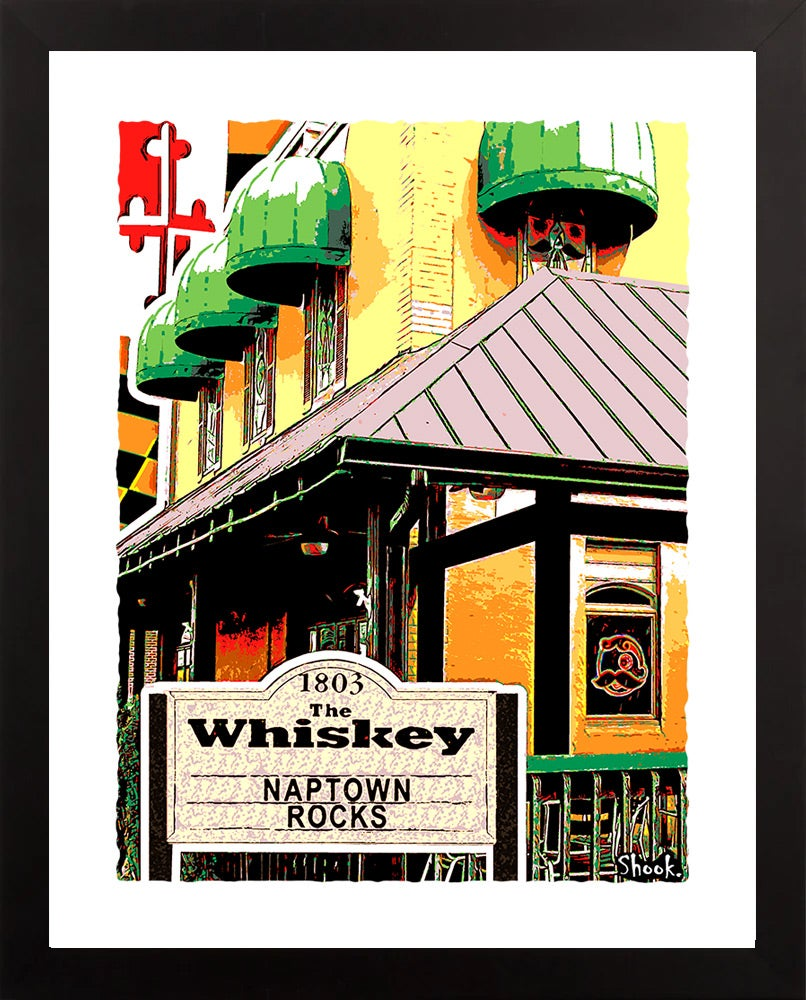 "Image of The Whiskey Annapolis Giclée Art Print - 11"" x 14"""