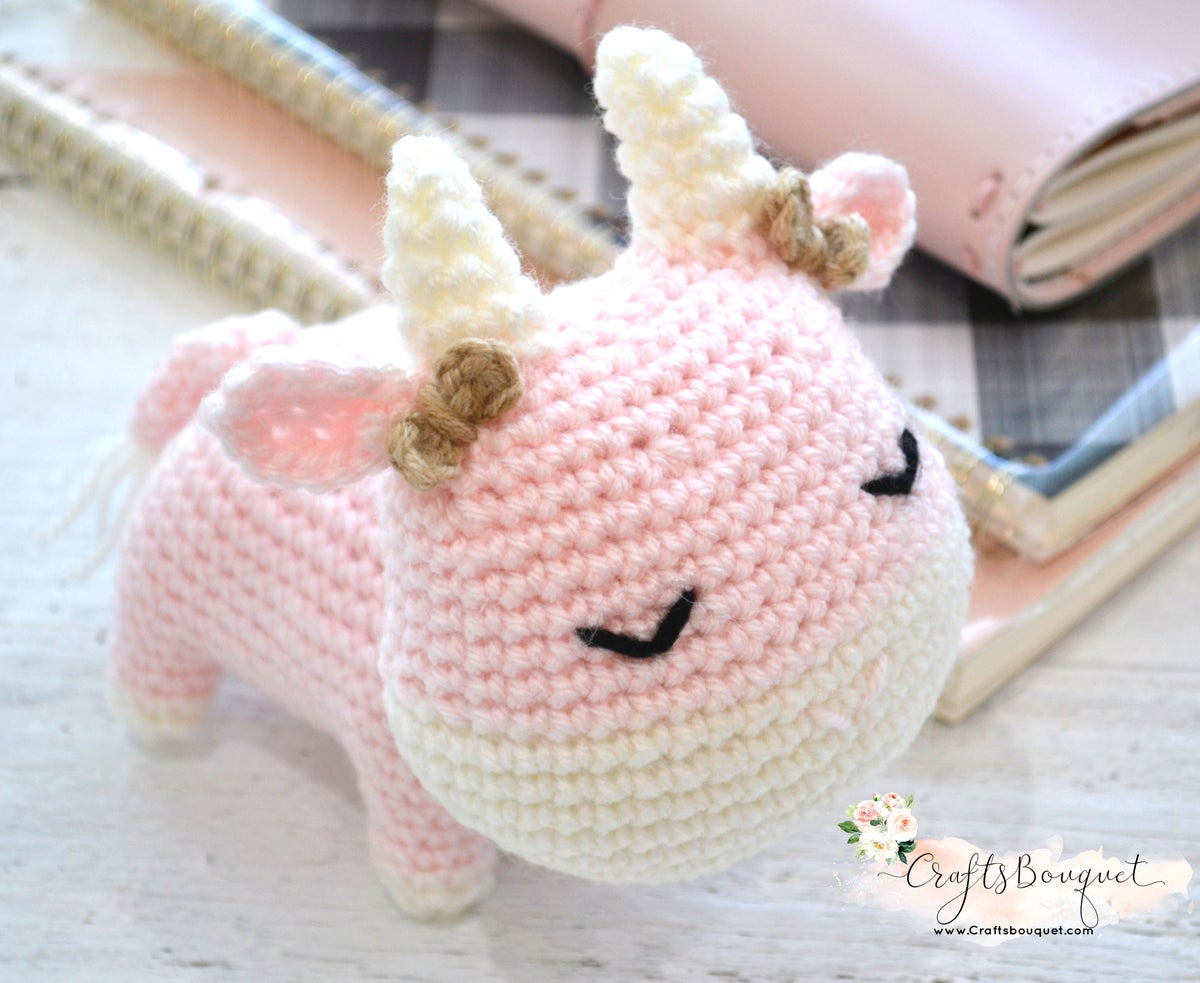 Image of CROCHET LITTLE COWS