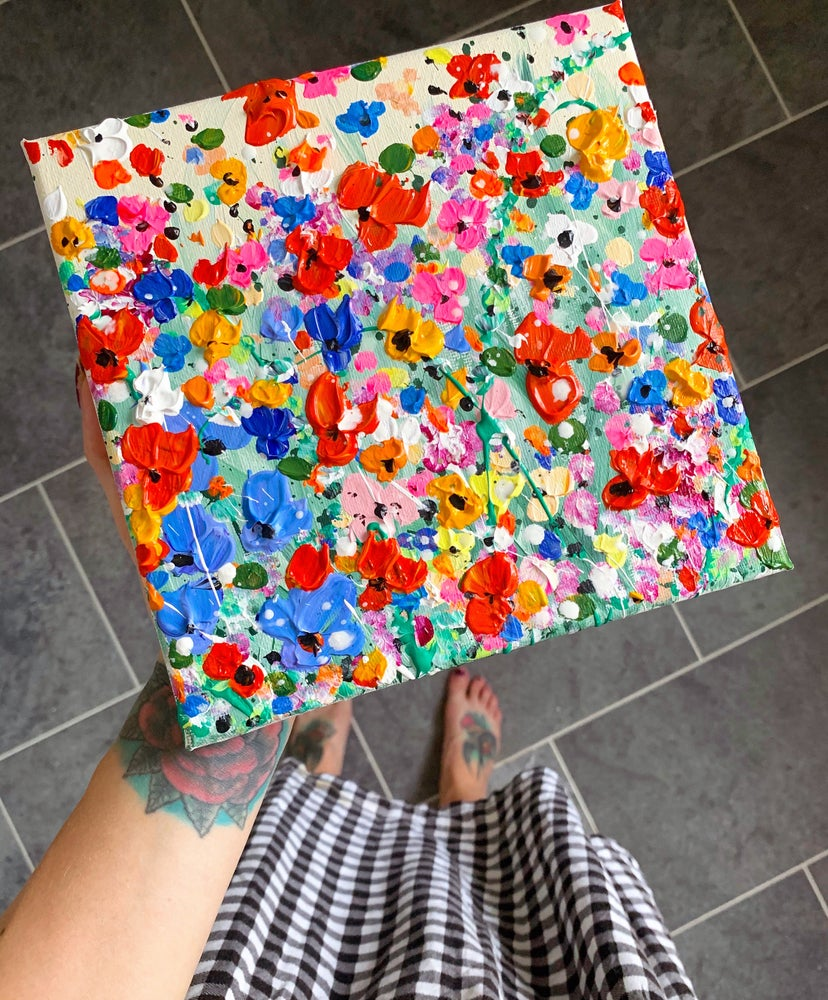 Image of Bright Poppies & Summer Sun