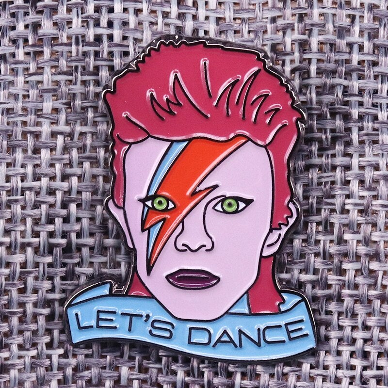 'Let's Dance' Bowie Badge
