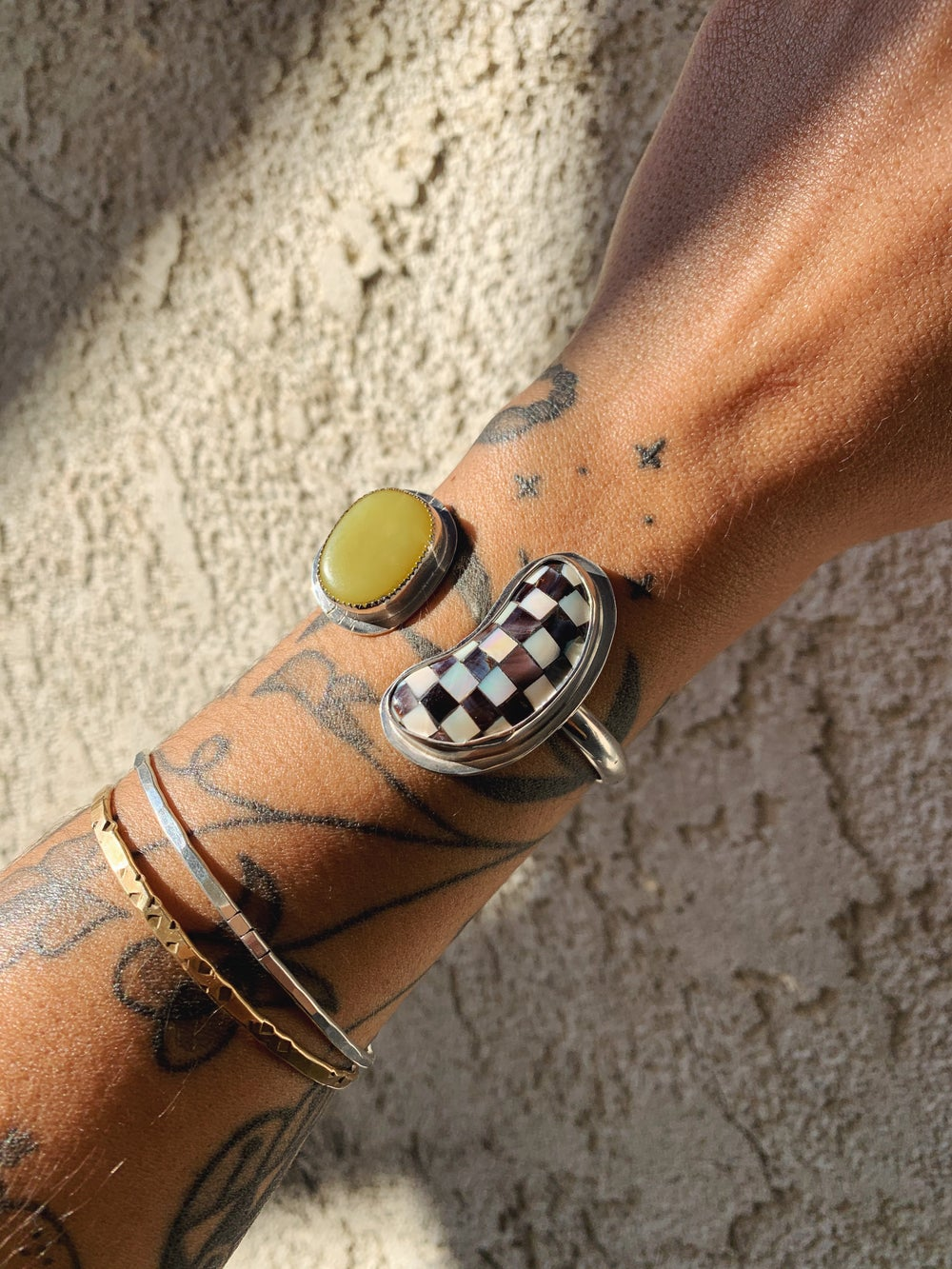 Image of Sun + Moon Cuff