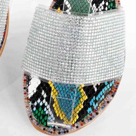 Image of Kelly Shimmer Sandal