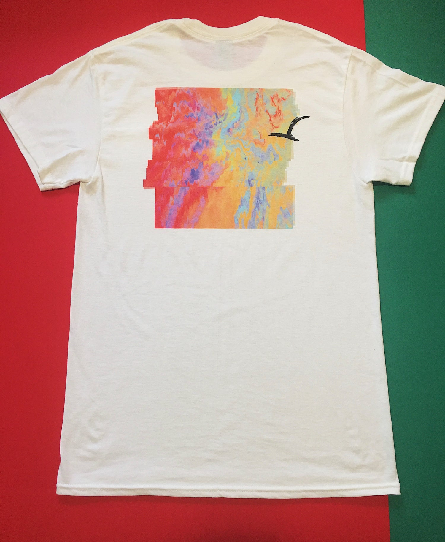 Image of Circumnavigate 'Painted Logo' Tee