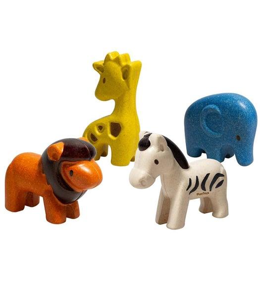 Image of Plan toys Animal figures set