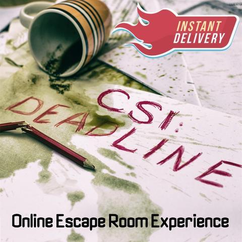 Image of CSI: Deadline - Online Escape Room