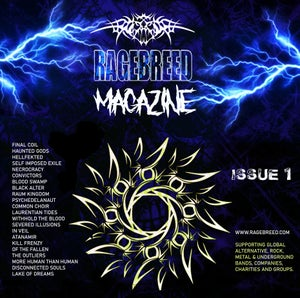 Image of RAGEBREED MAGAZINE ISSUE 1 - BUY NOW!