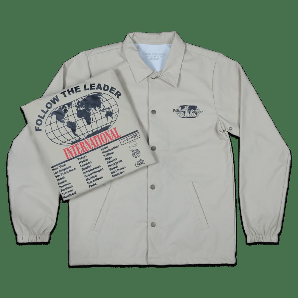Image of Worldwide Coaches Jacket (Beige)