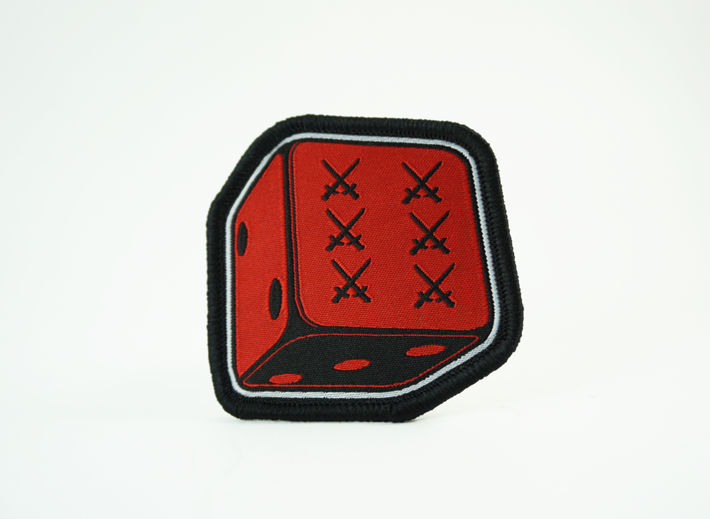 Image of 6th Anniversary Dice Patch