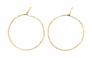 Image of HAMMERED HOOPS