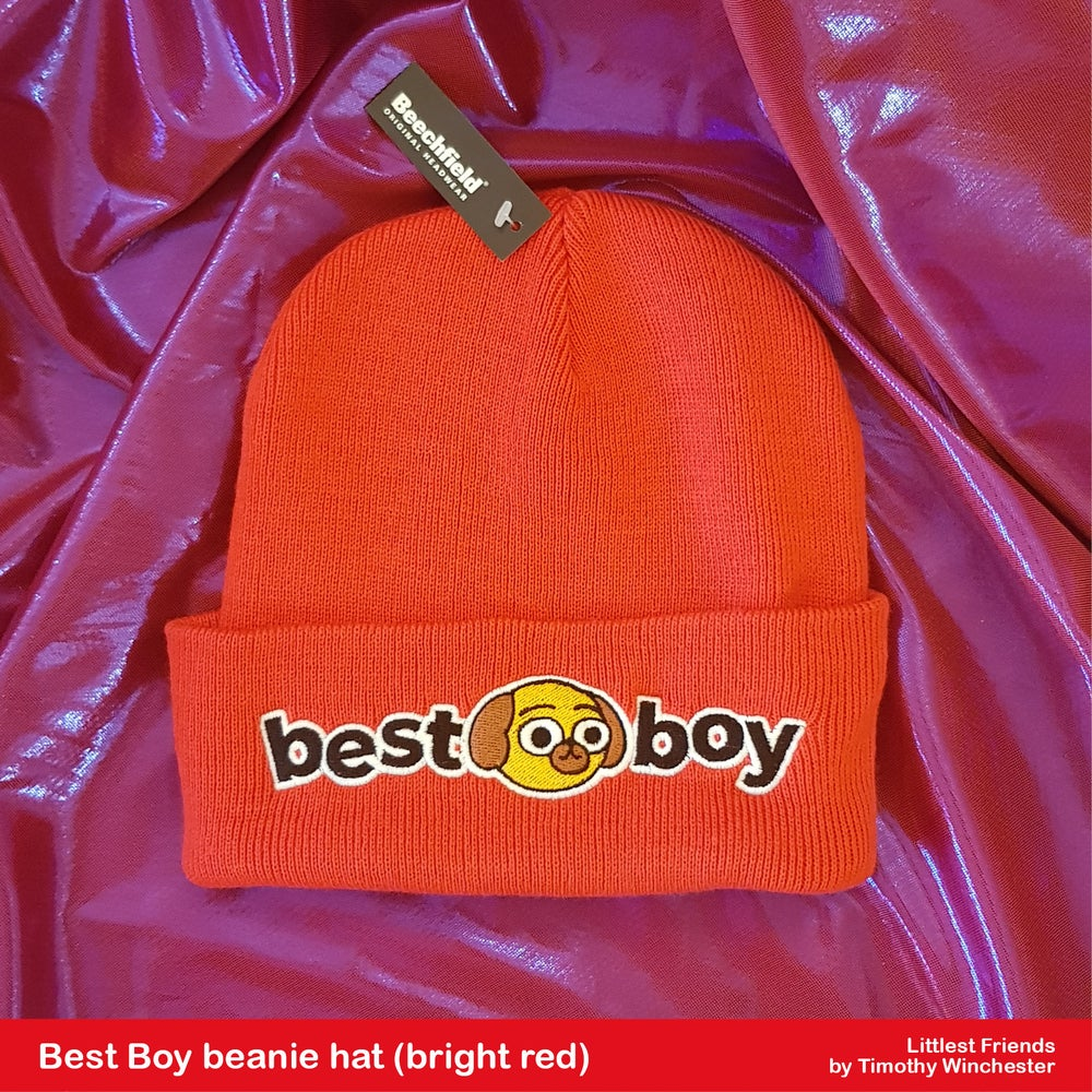 'Best Boy' Beanie Hat (available in five colours)
