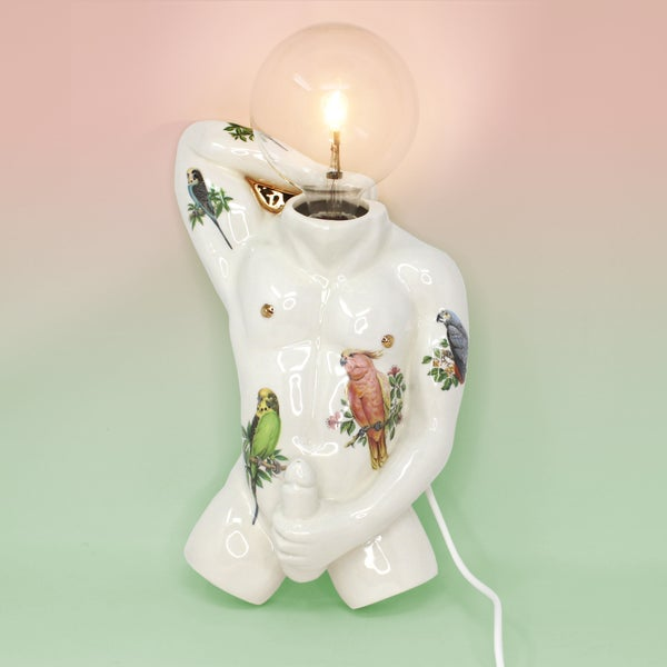 Image of Sexi Boi Light Sculpture Sconce