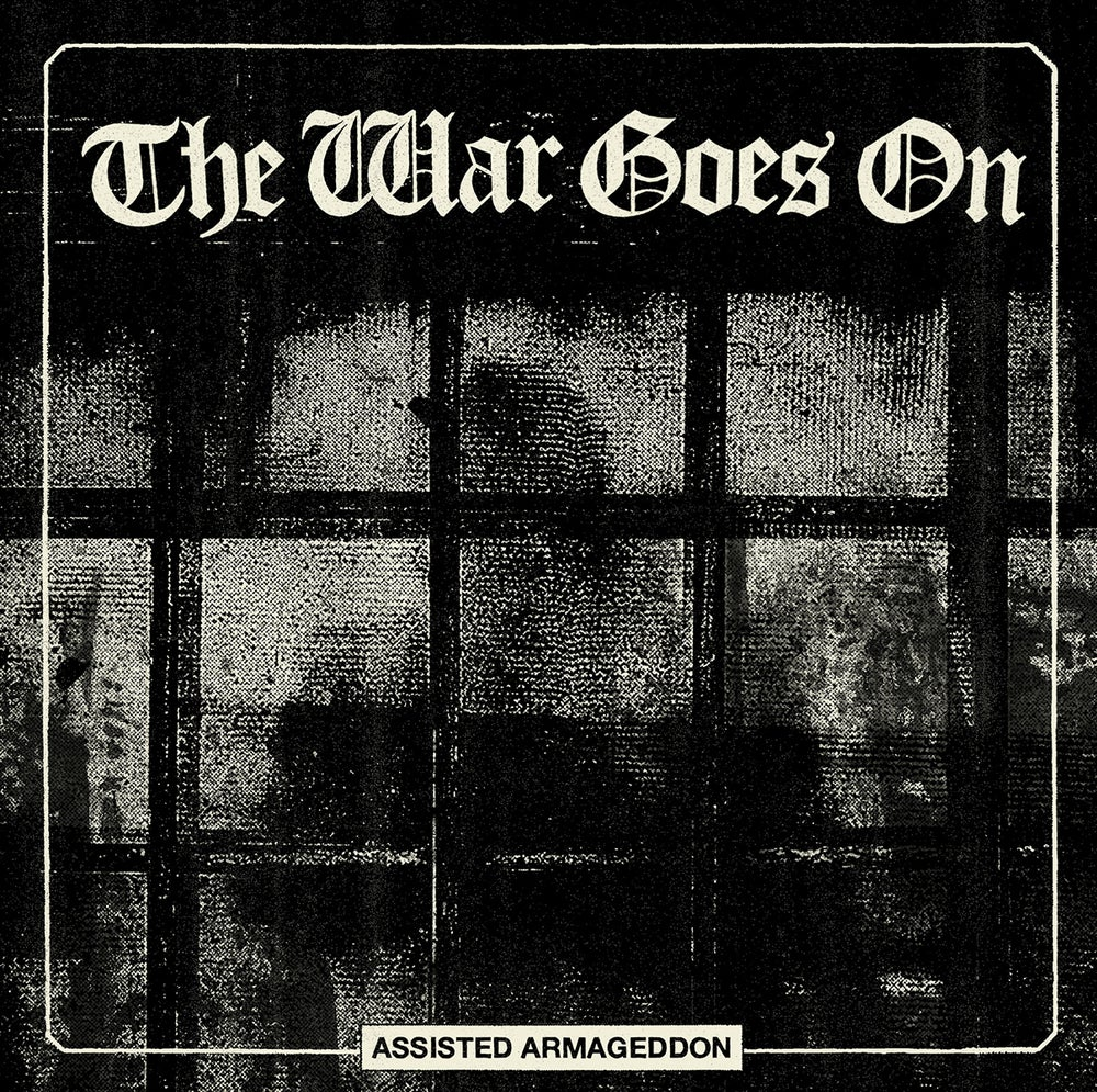 "Image of THE WAR GOES ON ""Assisted Armageddon"" LP"