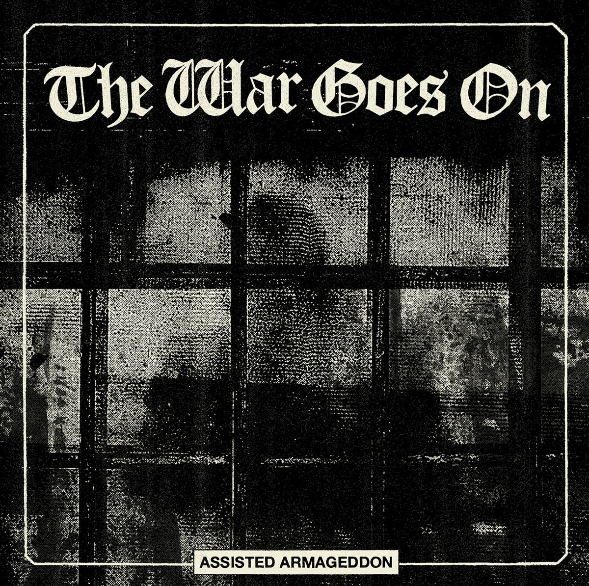 """Image of THE WAR GOES ON """"Assisted Armageddon"""" LP"""