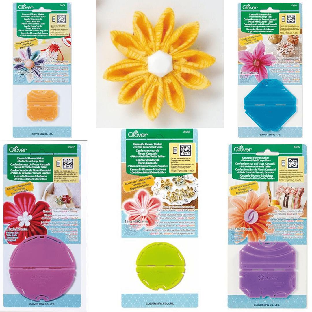 Clover Kanzashi Flower Makers