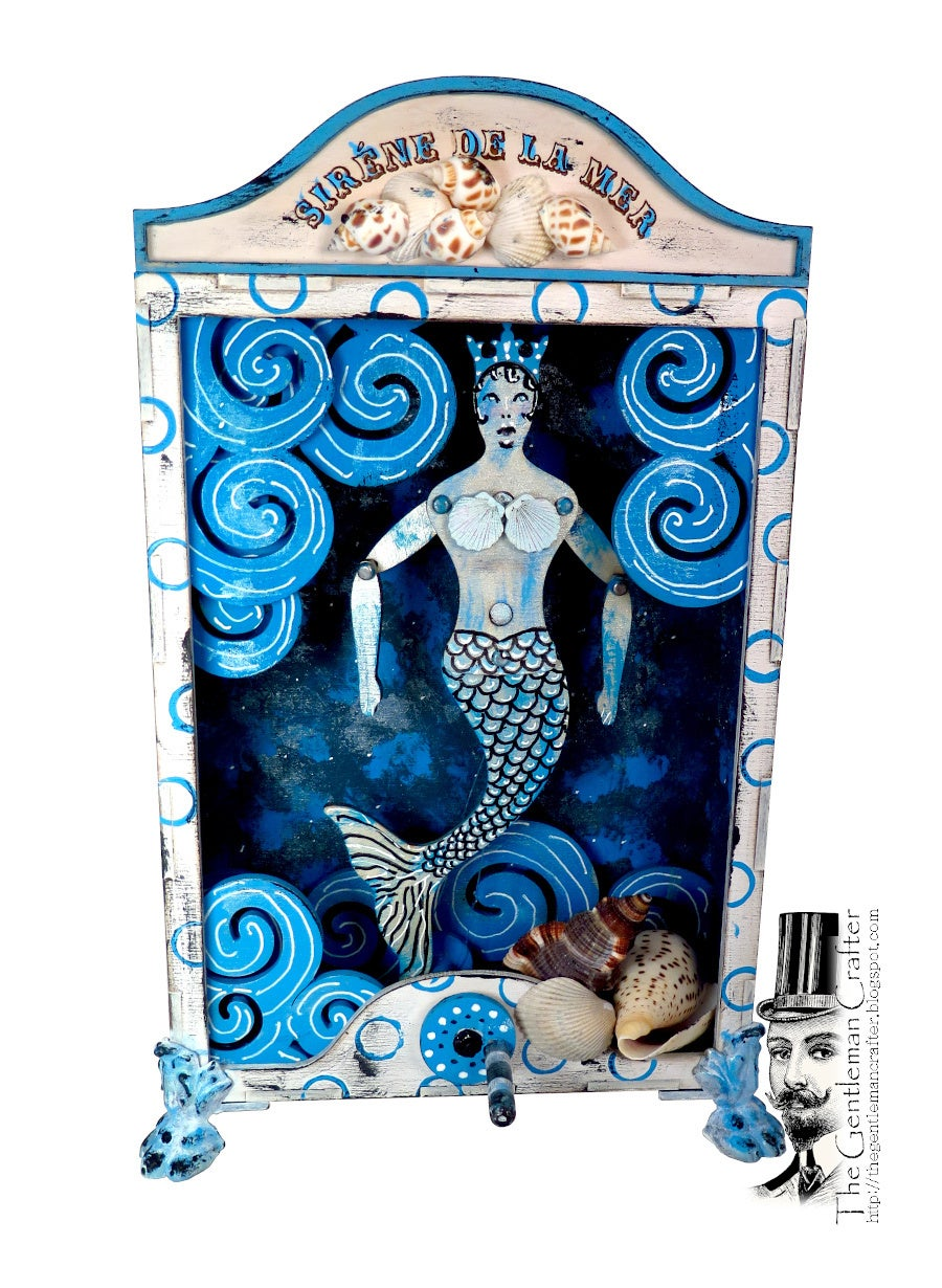 Image of Sirene de La Mer- Mermaid Jumping Jack Box Kit