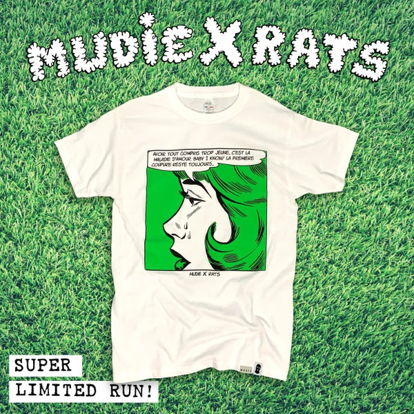 Image of 'Maladie D'amour' T-shirt | Mudie X Rats