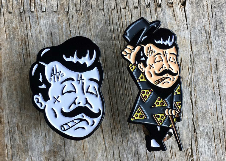 Image of MR. RAGOO PINS (CLOSE UP AND FULL BODY PIN)