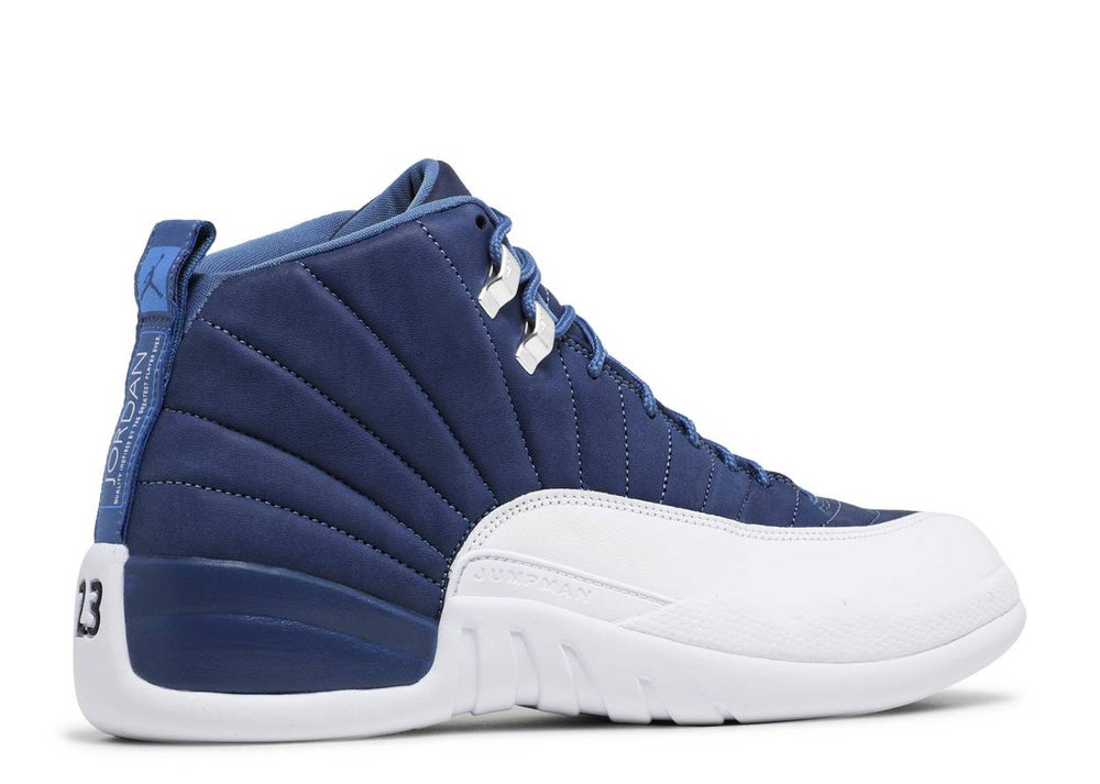 "Image of Air Jordan Retro 12 ""Stone Blue"""