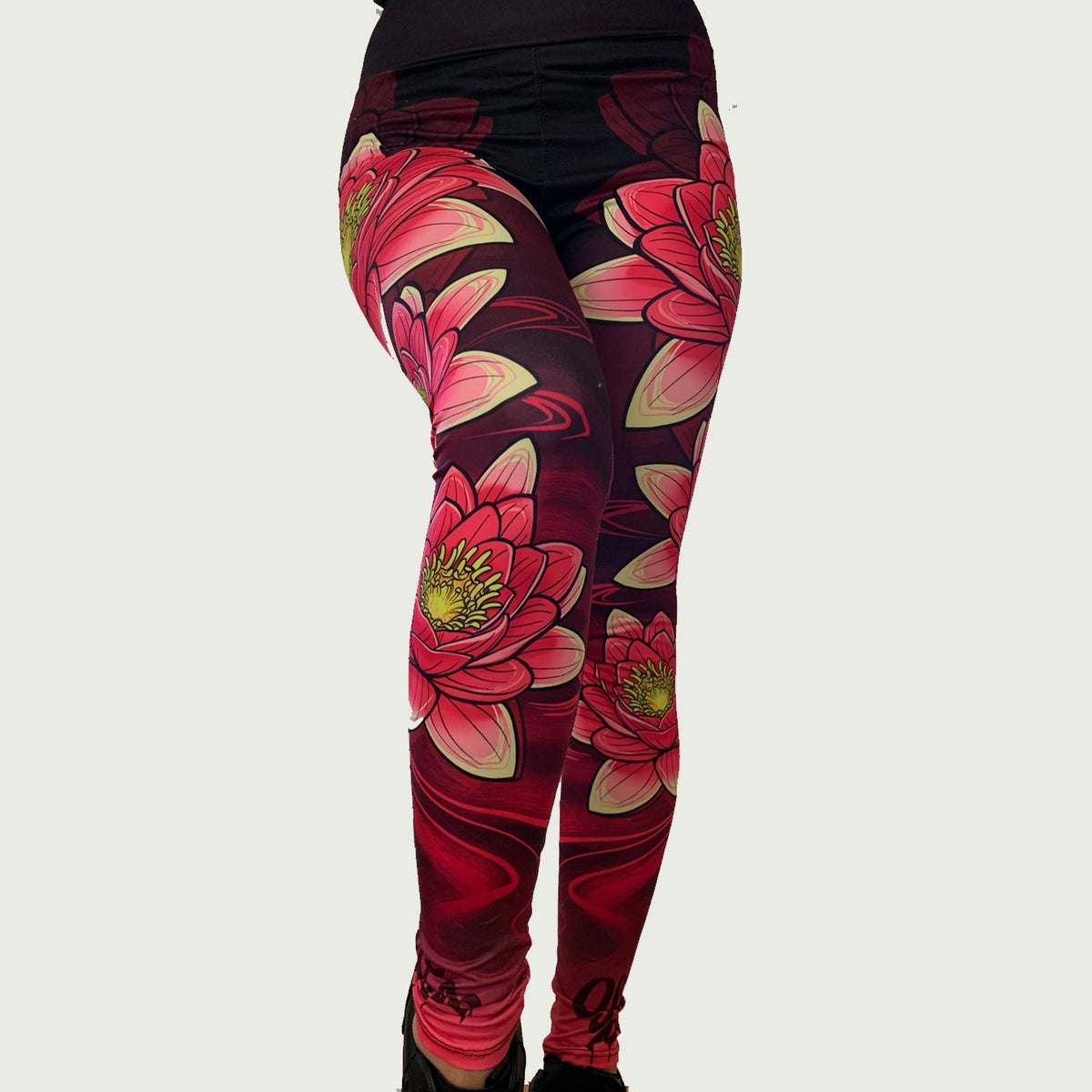 Image of Slowdown Lotus Leggings
