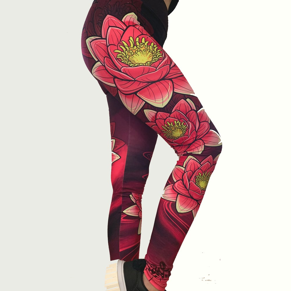 Slowdown Lotus Leggings