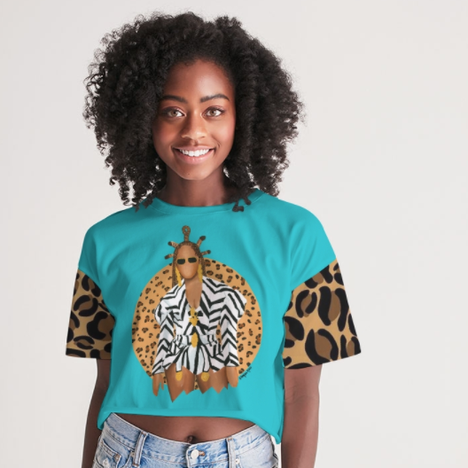Image of Queen Already (Relaxed Cropped Tee)