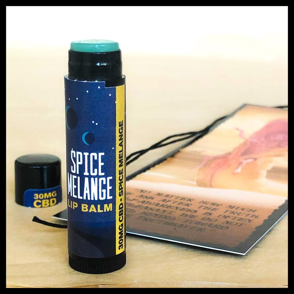 Image of Spice Melange Lip Balm + God Emperor Leto Bookmark