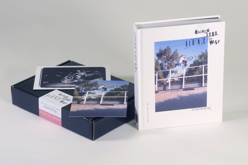 Image of Things Seen Along the Way: BMX Freestyle 1994-2014 — Hardcover Book