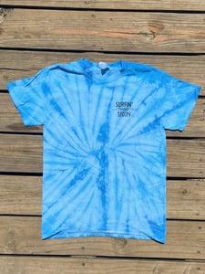 Image of Tie Dye Spoon Tee - Blue