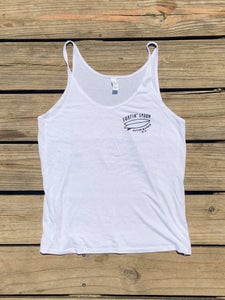 Image of Ladies Tank - White
