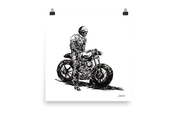 Image of Rider 1 RAW | Art Print