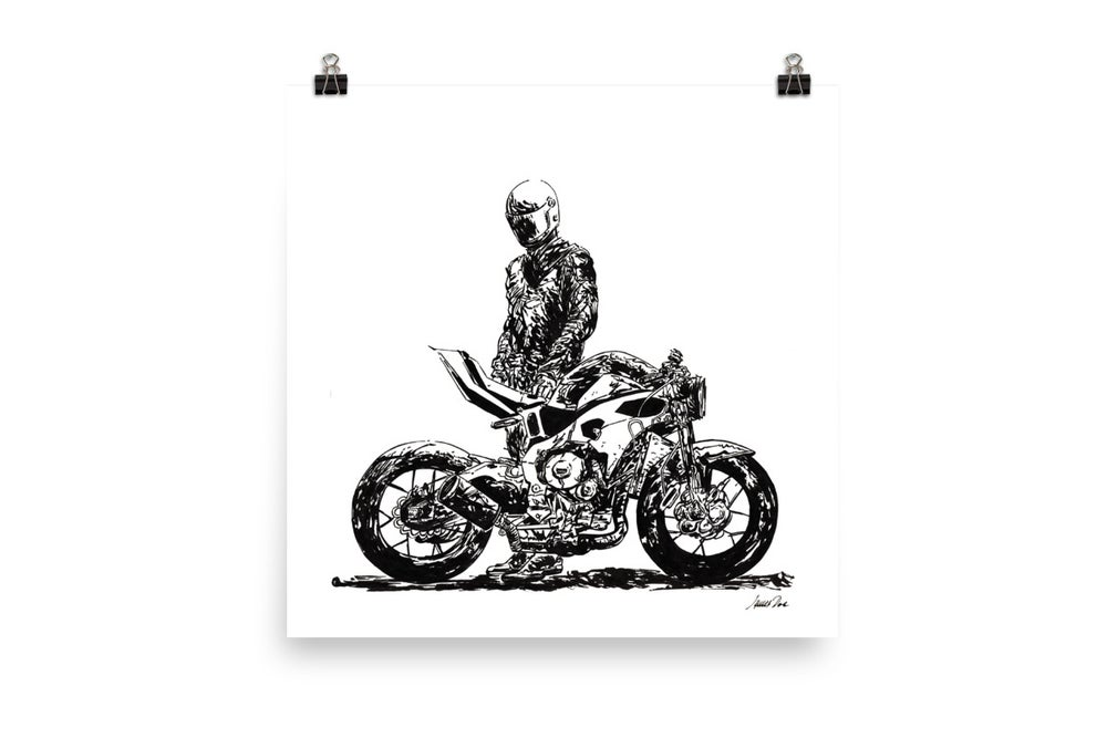 Image of Rider 2 RAW | Art Print